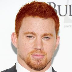 Pin for Later: All Your Favourite Stars Just Transformed Into Freckled Redheads Channing Tatum