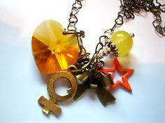 Sailor Venus Love Me Chain Necklace. $18.00, via Etsy.