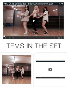 """""""ArA, Chae, and Bo-Bae 