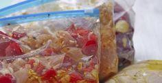 Chicken Crock Pot Freezer Meals for Slow Cooking Freezer Friendly Meals, Make Ahead Freezer Meals, Crock Pot Freezer, No Cook Meals, Freezer Burn, Slow Cooker Corned Beef, Slow Cooker Recipes, Crockpot Recipes, Paleo Recipes