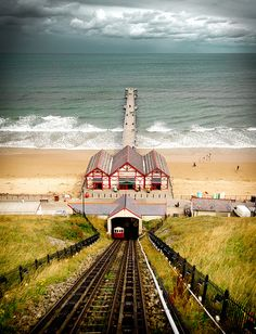 Saltburn from the cliff lift