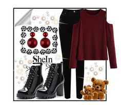 """SheIn8"" by irmica-831 ❤ liked on Polyvore featuring EAST and WithChic"