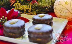 Ischelské dortíčky v hořké čokoládě Christmas Cookies, Muffin, Pudding, Sweets, Ale, Cooking, Breakfast, Desserts, Food