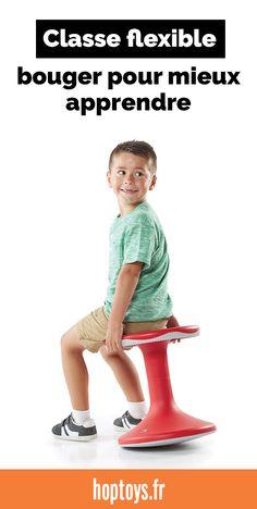 Maria Montessori disait que le l'intelligence des enfants passe par le mouvement. Et de nombreuses études confirment cette affirmation en montrant que les enfants apprennent mieux après une pause durant laquelle ils ont pu bouger et jouer. Bouger aide donc à mieux apprendre ! Dans cette sélection, on vous présente notre matériel à mettre à disposition des élèves pour réaliser des pauses actives ou pour bouger en étant assis. Ces outils peuvent être utilisés à l'école ET aussi à la maison. Reggio, Maria Montessori, L Intelligence, Alternative, Jouer, Aide, Perpetual Motion, Occupational Therapist, Anti Stress