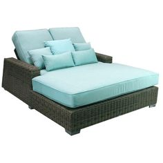 I pinned this Palisades Double Chaise in Glacier from the A Full Deck event at Joss and Main! #josscontest