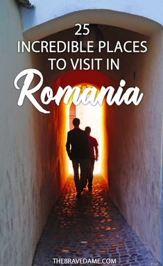 25 incredible places to visit in Romania - by The Brave Dame #romania #transylvania #brasov