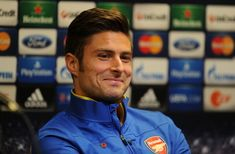 This is Olivier Giroud, a French footballer who plays for Arsenal FC. | Meet Olivier Giroud, The Really, Really Ridiculously Good-Looking Soccer Player