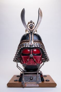 Upcycling Level: JEDI MASTER. Gabriel Deshaw is no joke when it comes to junk sculptures -> http://fineprintnyc.com/blog/the-upcycled-sculptures-of-gabriel-deshaw
