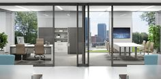 Clear Wall by Trendway