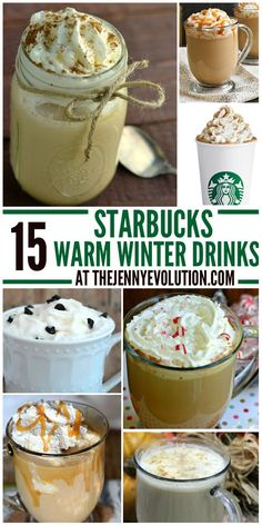 This collection of Warm Starbucks Winter Drinks and you can make your favorite drinks right at home including pumpkin spice latte and white chocolate mocha! Starbucks Recipes, Starbucks Drinks, Coffee Recipes, Coffee Drinks, Coffee Coffee, Coffee Travel, Coffee Cake, Diet Coffee, Coffee Truck
