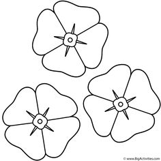 Poppy Coloring Pages Printable Coloring Sheet . Remembrance Day Activities, Remembrance Day Poppy, Poppy Template, Flower Template, Printable Flower Coloring Pages, Coloring Pages For Kids, Coloring Sheets, Colouring, Kids Coloring