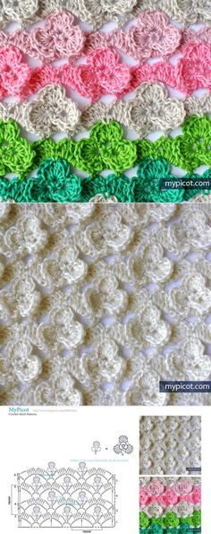 Annie/'s Crochet FOLLETO de patrón Holly Guirnalda afgano