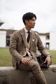 Cool, classic 3 piece suit. Milan