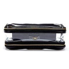Black Transparent Inflight Labelled Anya Hindmarch Accessories £150