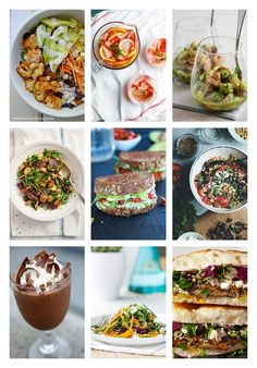 Awesome Vegetarian Recipes for Weight Loss - You'll love these easy, delicious, healthy recipes from some of my favorite food blogs!!