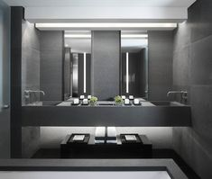 Perfect Grey color for bathroom - Anouska Hempel Design
