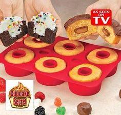 Cupcake Secret - Forma em Silicone
