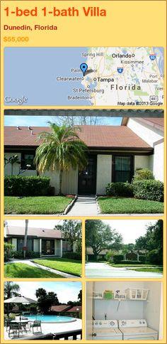 1-bed 1-bath Villa in Dunedin, Florida ►$55,000 #PropertyForSale #RealEstate #Florida http://florida-magic.com/properties/74290-villa-for-sale-in-dunedin-florida-with-1-bedroom-1-bathroom
