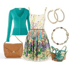 Be Queen Of Spring! (Oasis Floral Belted Dress $24)