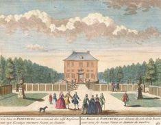 Het huis te Papenburg van voren uit des zelfs Basfecour met zyn Konstige marmere Vazen. Het Zegenpralent Kenenmerlant, vertoont in 100 Heerelyke gezichten. Mattaeus Brouerius van Nidek, , Henrik de Leth.
