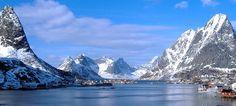 Reinfjord, Lofoten, Nordnorwegen