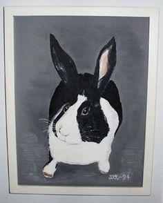 Omat maalaukset | Kehystämö Galleria Kehyskulma | Raisio Rabbit, Album, Painting, Animals, Art, Bunny, Art Background, Rabbits, Animales