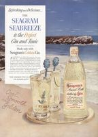 Seagram's Golden Gin 1954 Ad Picture
