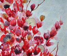LRW Acrylic + pressed flowers