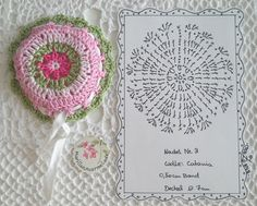 beautiful jar covers plus crochet the edge around the label to match - wonderful gift!!