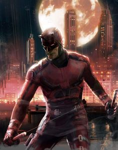 Daredevil(Matt Murdock) Art by Hq Marvel, Marvel Series, Marvel Dc Comics, Marvel Cinematic, Netflix Marvel, Spiderman Marvel, Daredevil Punisher, Daredevil Artwork, Wolverine