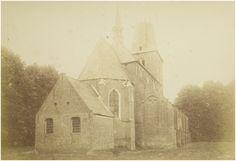 Lierop, Rooms Katholieke kerk van Lierop, gesloopt in1892. foto uit 1891