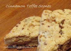 Baker Becky: Cinnamon Toffee Scones