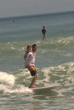 The family that surfs together......