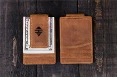 Personalized Slim Wallet father of the bride gift gift by EdenWars