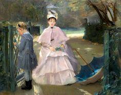 Eva Gonzales (1849 – 1883, French)