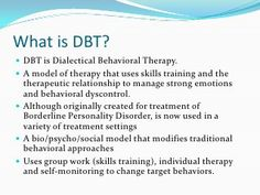 Excellent slide presentation on DBT. Mental Health Counseling, School Counseling, Therapy Tools, Art Therapy, Social Work, Social Skills, Coping Skills, What Is Mental Health, Solution Focused Therapy