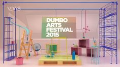 50th Advance Project : DUMBO ARTS FESTIVAL Project Running Time - 02 : 14 Directed, Design, Animated By Mina, Kwon