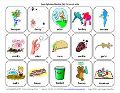Medial K: Free Speech Therapy Articulation Picture Cards  -  Pinned by @PediaStaff – Please Visit http://ht.ly/63sNt for all our pediatric therapy pins