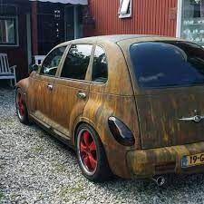 Car Throttle, Chrysler Pt Cruiser, Rusty Cars, Mk1, Volkswagen, Like4like, German, Vehicles, Style