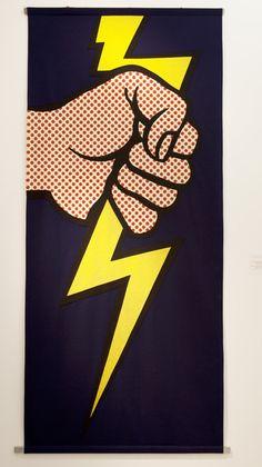 Roy Lichtenstein, 'Lighting bolt banner,' 1966, Keitelman Gallery