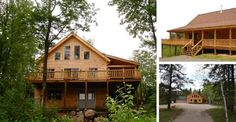 Would you Rather DIY this Log Cabin for $58,000 or Have it Built Entirely for $117,000