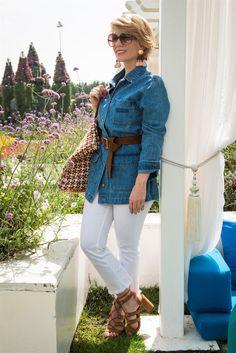 Denim parka.. More fashion on my blog: www.myfuntasticlife.com