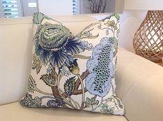 Hamptons Style Cushions Hampton's Floral by MyBeachsideStyle