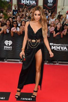 Shay Mitchell in Olcay Gulsen at the iHeartRadio MuchMusic Video Awards #MMVAs