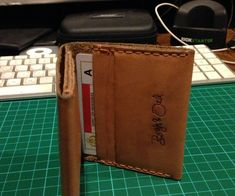 How to Make a Bifold Leather Wallet - Snapguide