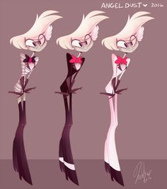 Angel Dust #Vivziepop what did they do to angel!