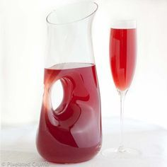Pomegranate Champagne Punch from Pixelated Crumb
