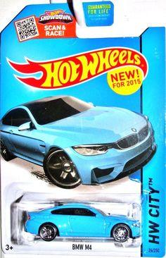 2015 BMW M4 Hot Wheels 2015 HW CITY-STREET POWER #24/250-Blue #HotWheels #BMW