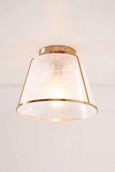May Flush Mount | Anthropologie Bathroom Light Fixtures, Bathroom Lighting, Unique Lighting, Decorative Lighting, Lighting Ideas, Electrical Outlets, Spring Home, Mason Jar Lamp, Vanity Lighting