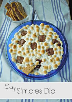 Easy S'mores Dip {with Printable Coupons}--ridiculously delicious! #PackWithSavings #Shop